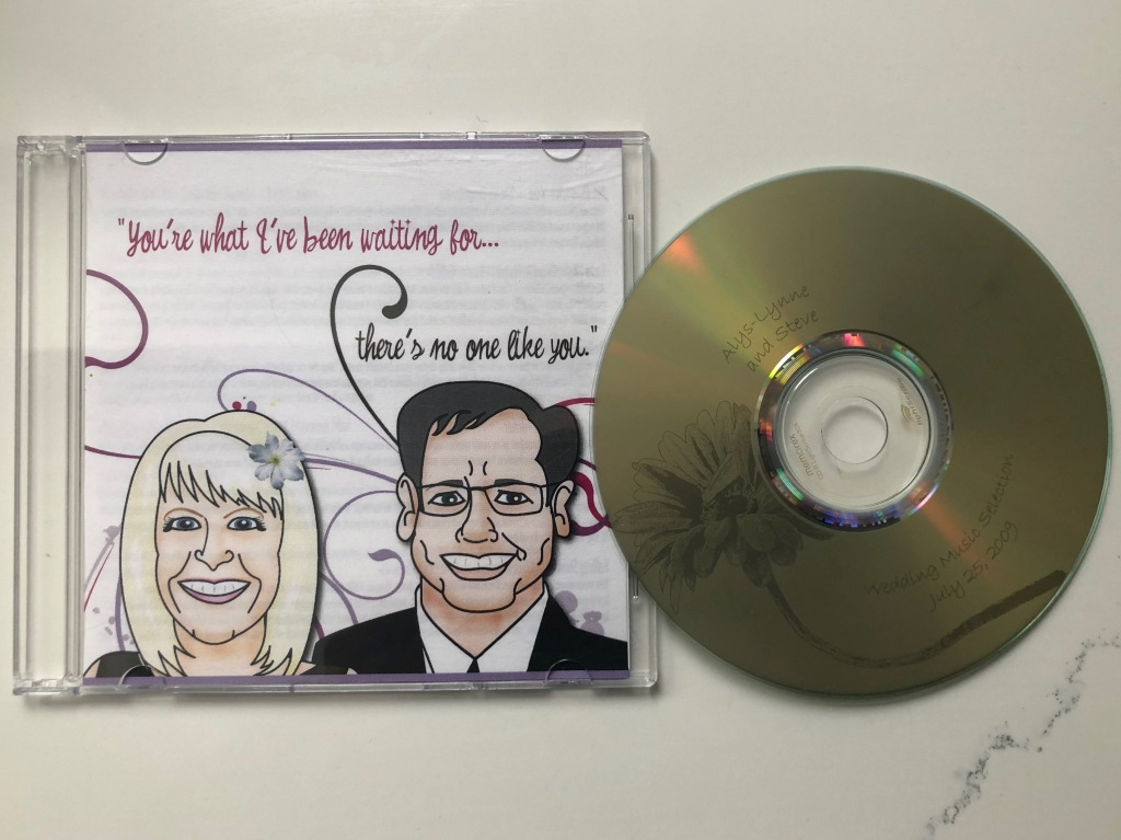 Photo of a CD and its cover.